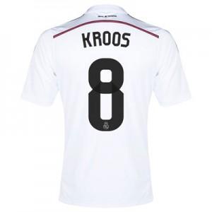 Camiseta del Kroos Real Madrid Primera Equipacion 2014/2015