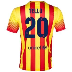 Camiseta de Barcelona 2013/2014 Segunda Tello