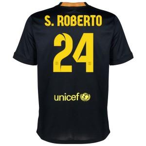 Camiseta Barcelona S.Roberto Tercera Equipacion 2013/2014