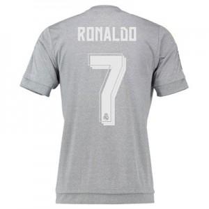 Camiseta Real Madrid Numero 07 RONA Segunda Equipacion 2015/2016