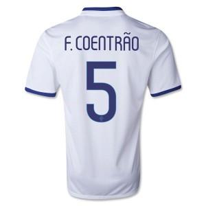 Camiseta del F Coentrao Portugal de la Seleccion Segunda 2013/2014