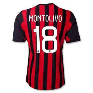 Camiseta AC Milan Montolivo Primera Equipacion 2013/2014