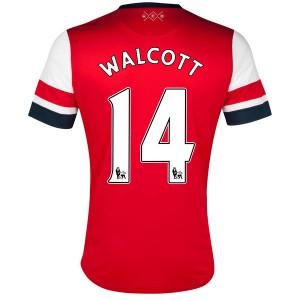 Camiseta Inglaterra de la Seleccion Walcott Primera 2013/2014