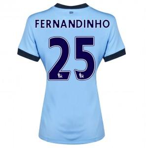 Camiseta de Manchester City 2014/2015 Segunda Fernando.R