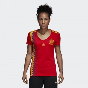 Camiseta de SPAIN 2018 Home Mujer