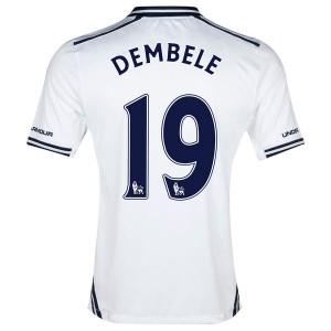Camiseta Tottenham Hotspur Dembele Primera 2013/2014
