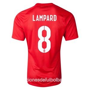 Camiseta del Lampard Inglaterra de la Seleccion Segunda WC2014