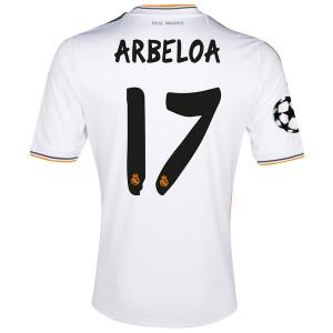 Camiseta Real Madrid Arbeloa Primera 2013/2014