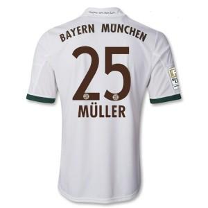 Camiseta Bayern Munich Muller Tercera Equipacion 2013/2014