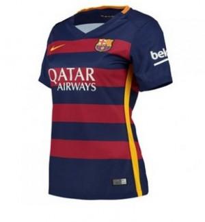 Camiseta Barcelona Primera Equipacion 2015/2016 Mujer