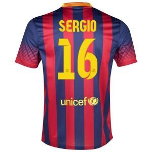 Camiseta nueva Barcelona Sergio Primera 2013/2014