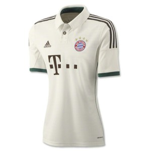Mujer Camiseta del Bayern Munich Tercera Equipacion 2013/2014