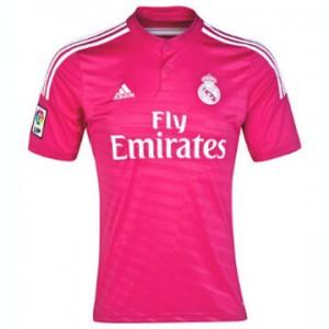 Camiseta del Real Madrid Segunda Equipacion 2014/2015