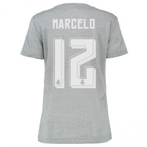 Camiseta nueva del Real Madrid 2015/2016 Equipacion MARCELO Mujer Segunda