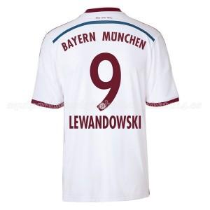 Camiseta del Lewandowski Bayern Munich Segunda Equipacion