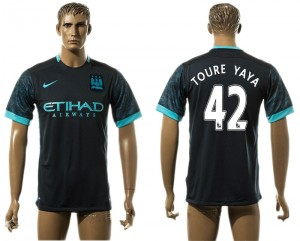 Camiseta Manchester City 42# Away aaa version
