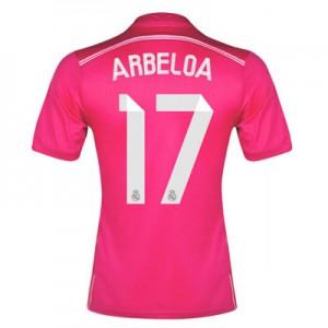 Camiseta del Arbeloa Real Madrid Segunda Equipacion 2014/2015