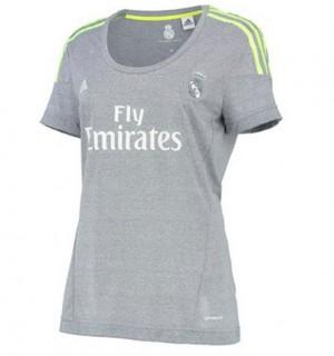 Camiseta de Real Madrid 2015/2016 Segunda Equipacion Mujer