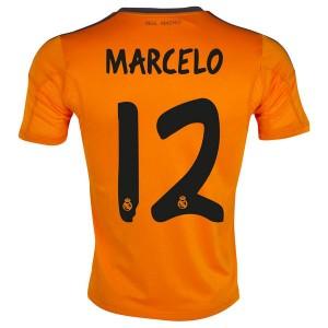 Camiseta de Real Madrid 2013/2014 Tercera Marcelo Equipacion