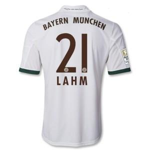 Camiseta del Lahm Bayern Munich Tercera Equipacion 2013/2014