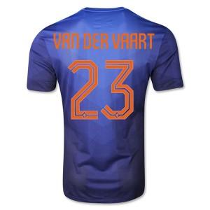 Camiseta nueva del Holanda WC2014 Van Der Vaart Segunda