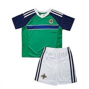 Camiseta nueva del IRLANDA DEL NORTE 2016 VERDE Niños Primera