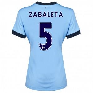 Camiseta Manchester City Dzeko Primera 2013/2014