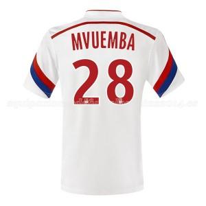 Camiseta del Mvuemba Lyon Primera 2014/2015