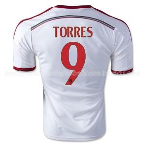 Camiseta AC Milan Torres Segunda Equipacion 2014/2015