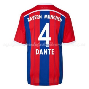 Camiseta Bayern Munich Dante Primera Equipacion 2014/2015