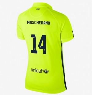 Camiseta nueva del Barcelona 2013/2014 Equipacion Nino Segunda