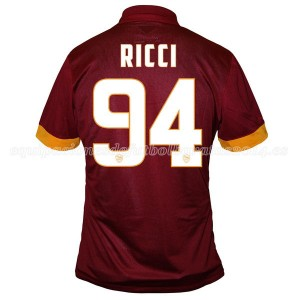 Camiseta nueva AS Roma Ricci Equipacion Primera 2014/2015