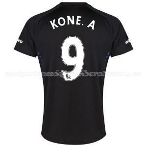 Camiseta nueva del Everton 2014-2015 Kone.A 2a